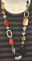 Premier Designs Ignite Necklace and Earrings - $40.00