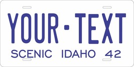 Idaho 1942 Personalized Tag Vehicle Car Auto License Plate - $16.75