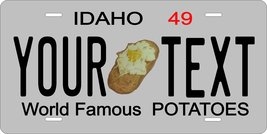 Idaho 1949 Personalized Tag Vehicle Car Auto License Plate - $16.75