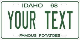 Idaho 1968 Personalized Tag Vehicle Car Auto License Plate - $16.75