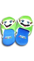 Super Mario Bros. Luigi Cuite Cosplay Adult Plush Rave Shoes Doll Slippe... - £7.77 GBP