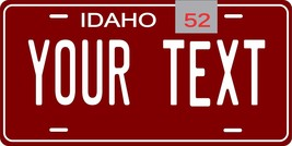 Idaho 1952 Personalized Tag Vehicle Car Auto License Plate - $16.75