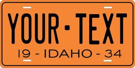 Idaho 1934 Personalized Tag Vehicle Car Auto License Plate - $16.75