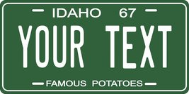 Idaho 1967 Personalized Tag Vehicle Car Auto License Plate - $16.75