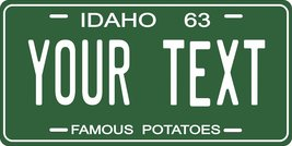 Idaho 1963 Personalized Tag Vehicle Car Auto License Plate - $16.75
