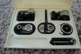 Office Desk Collection Stapler Cutter Scissors Lens Tape Dispenser w Dis... - €8,94 EUR