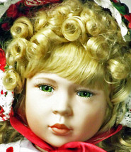 """Doll William Tung's """"Leigh"""" Porcelain Bisque 24 Inches Tall (*L3L) - $189.99"""