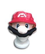 Super Mario Bros Cosplay Adult Plush Rave Figure Hat Cap Warm Cartoon  - $6.99