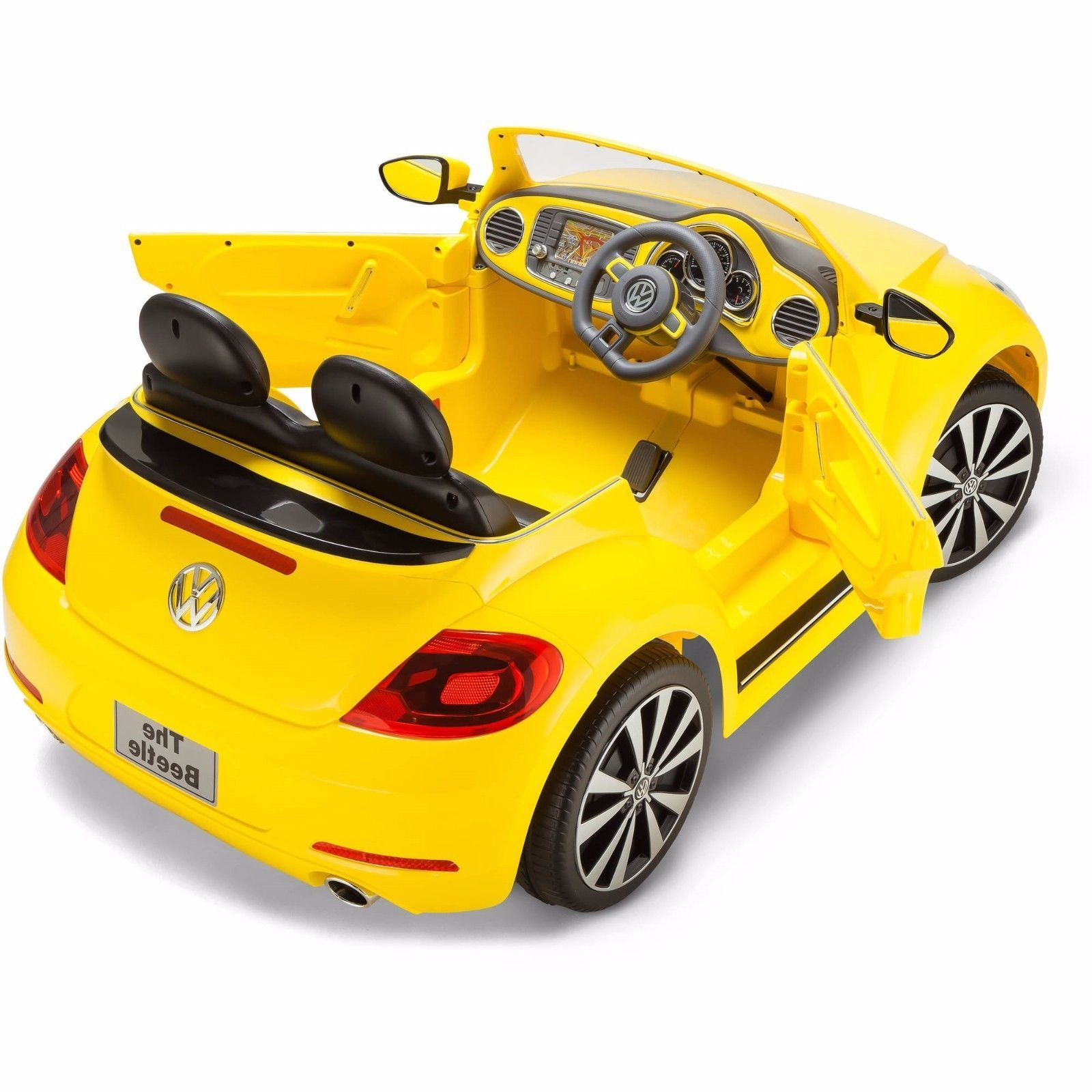 Ride On Toy Car : Kids ride on toy car vw beetle convertible volt battery