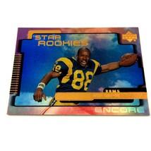 Torry Holt 1999 Upper Deck Encore Rookie Card #203 NFL Rams  - $3.91