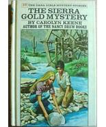 Dana Girls #10 THE SIERRA GOLD MYSTERY white spine pc Nancy Drew author ... - $9.99