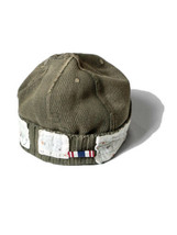 Kapital Heavy waffle Military CAP Souvenir remake khaki Made in Japan - $209.99