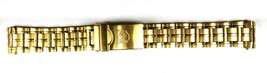 ELGIN Gold Tone Stainless Steel Link Bracelet 20mm For Vintage Watches - $17.90