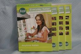 "Giada De Laurentiis Food Network 3 Disc Set ""Everyday Italian"" - $8.16"