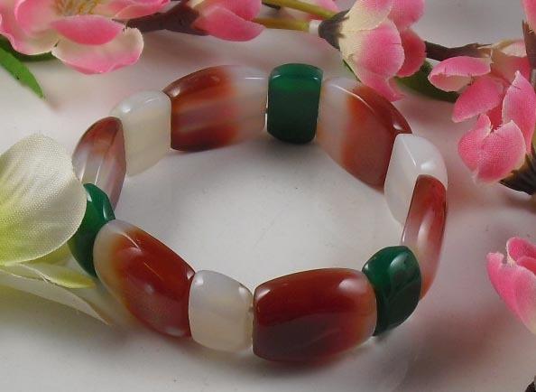 Genuine Pure Natural Agate Bracelet
