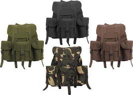 Military Heavy Duty Canvas Mini Alice Rucksack Backpack - $52.43