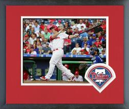 Tommy Joseph 2016 Philadelphia Phillies - 11 x 14 Team Logo Matted/Framed Photo - $42.95