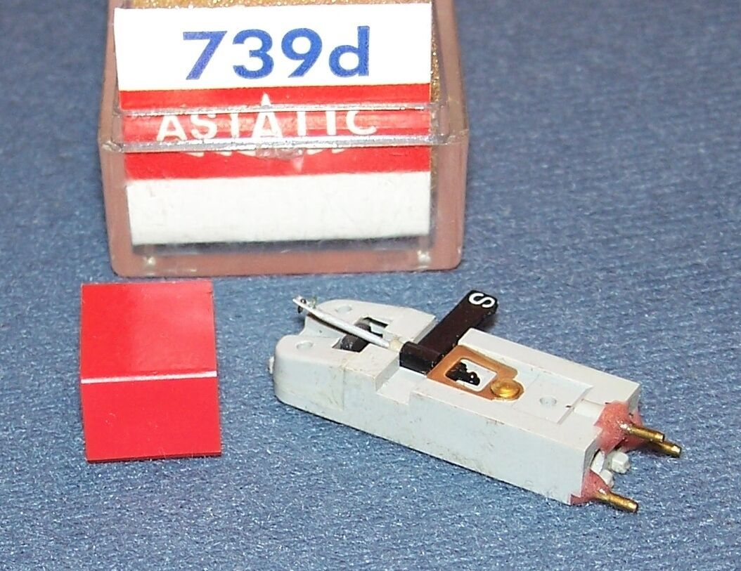 Astatic 739D for 739 RECORD PLAYER CARTRIDGE replaces Euphonics U19-17
