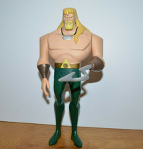 "Justice League Unlimited AQUAMAN 10"" Action Figure Mattel 2005 DC Comics - $19.55"