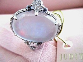 Judith Ripka BLUE QUARTZ SAPPHIRE MOP DOUBLET ALLURE Sterling RING Sz 7 ... - $249.95