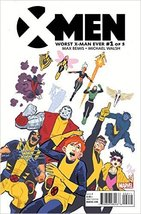 X-Men Worst X-Man Ever #1 (of 5) Comic Book [Comic] [Jan 01, 2016] MARVEL - $2.83
