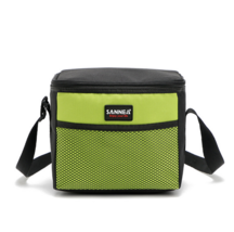 5L portable cooler bag lunch bag thermostat Refrigerated ice pack shawl ... - $11.99