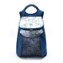 22L Insulation ice pack outdoor picnic backpack chilled blue - $21.99