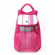 22L Insulation ice pack outdoor picnic backpack chilled pink - $21.99