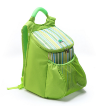 22L Insulation ice pack outdoor picnic backpack chilled green - $21.99