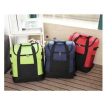 25L capacity holding back milk bag multifunctional ice pack picnic bag  red - $20.99