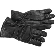Solid Lambskin Leather Motorcycle Biker Riding ... - $42.95