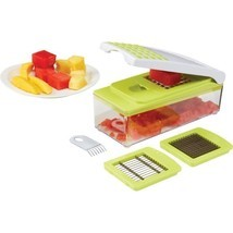 Potato Vegetable Slicer Fruit Cheese Egg Chopper Salad Shredder Food Pro... - €28,12 EUR