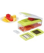 Potato Vegetable Slicer Fruit Cheese Egg Chopper Salad Shredder Food Pro... - $43.60 CAD
