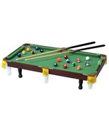 Tabletop Miniature Pool Table Top Billiard Mini Compact Game Room Furnit... - $101.80