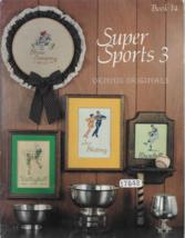Cross Stitch Pattern Booklet-Super Sports 3, Book 14 by Dennis Originals... - $4.95