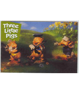 Disney WDCC Wolf & three Pigs Print Never Sold Cheap - $1.99