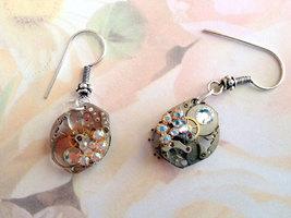 Watch Component Earrings, Steampunk Jewelry, Re... - $32.00