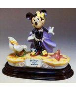 Disney Capodimonte Laurenz Minnie Mouse at Beach  - $784.45