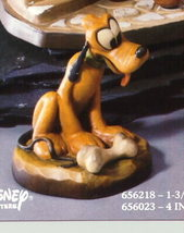 Disney Pluto dog w/ bone Woodcarving Anri Italy Offer - $299.99
