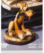 Disney Pluto dog w/ bone Woodcarving Anri Italy Offer - $299.99