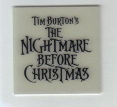 Nightmare Before Christmas Logo Glow in The Dark - $7.84