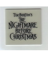 Nightmare Before Christmas Logo Glow in The Dark - $7.84