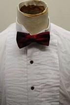 Firenze Formal Tuxedo Dress Shirt Men M Cotton 15 White Long Sleeve Korea - $12.19