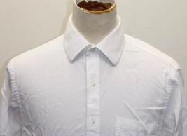 Michael Kors White Oxford White Long Sleeve Men Shirt Dress 16 1/2  Cott... - €24,08 EUR