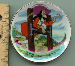 DISNEY Peter Pan Villain Captain Hook PLATE mint cheap - $15.99
