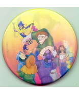 Disney 3d Flasher Hunchback Notre Dame Park pin/pins - $4.03