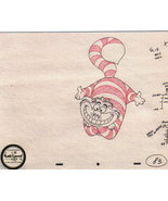 Disney WDCC Cheshire Cat Sketch NUMBERED World ship - $99.99