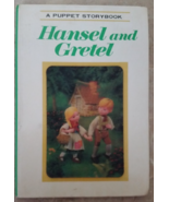 A Puppet Story Book Hansel and Gretel 3D Rare V... - $39.99