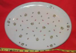 Andrea by Sadek Floral Oval Porcelain Platter (... - $12.56