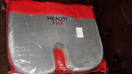 Health Max Orthopedic Coccyx Seat Cushion Pillow Memory Foam For Chair P... - $36.76